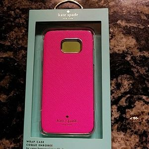 Kate Spade Samsung Galaxy S7 wrap case. NWT
